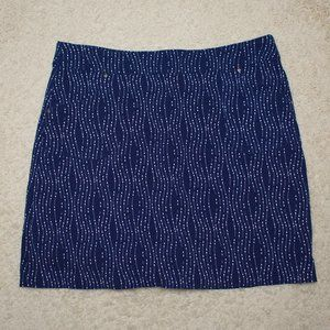 EP New York Blue Golf Skirt XL